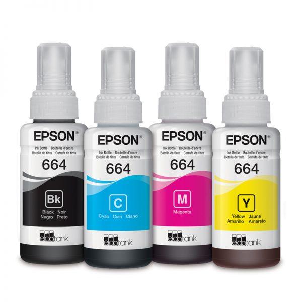 Botellas de Tinta Epson T664