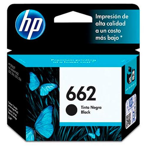 Cartucho HP-662-Negro - Valdés