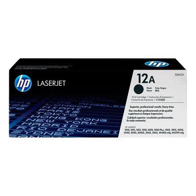 Toner Negro HP Q2612A