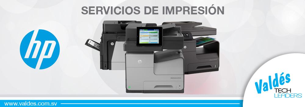Servicios de Impresión by Valdés