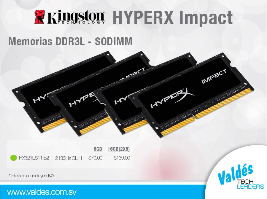 HYPERX-Impact by Valdés