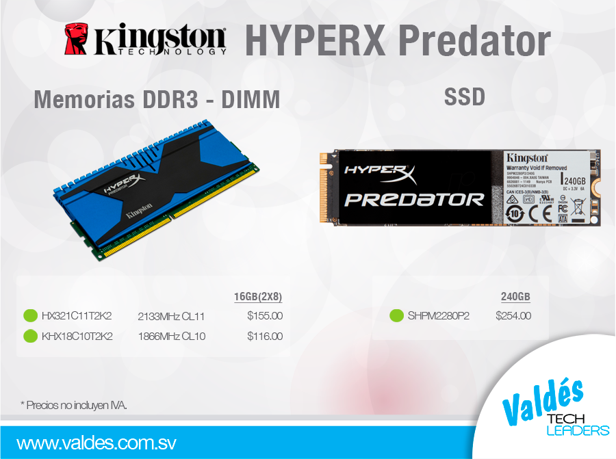 HYPERX-Predator by Valdés