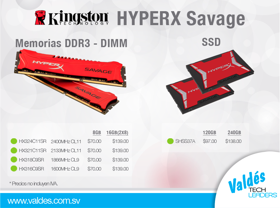 HYPERX-Savage by Valdés