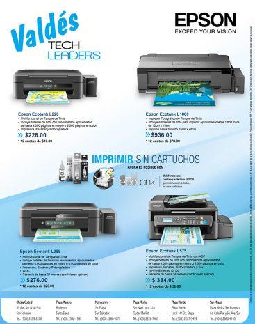 Impresores Epson Serie L