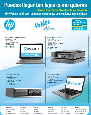 Recomendaciones HP