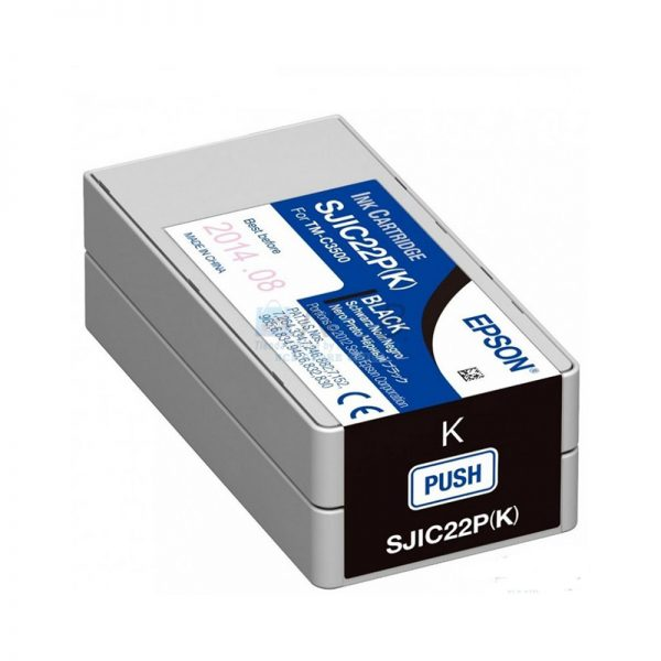 Cartucho NEGRO para EPSON TM-C3500