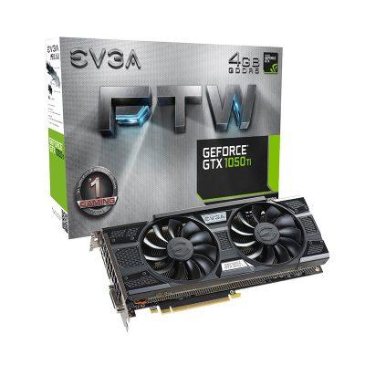 Tarjeta Video EVGA GTX1050 TI FTW