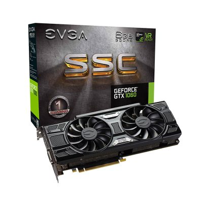 Tarjeta Video EVGA GeForce GTX 1060 6GB