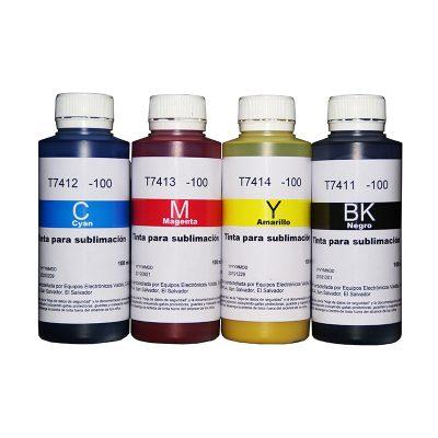 Botella de Tinta Sublimación