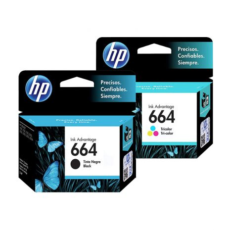 Cartucho HP 664 / 664XL