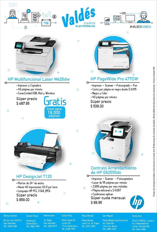 Impresión Empresarial HP