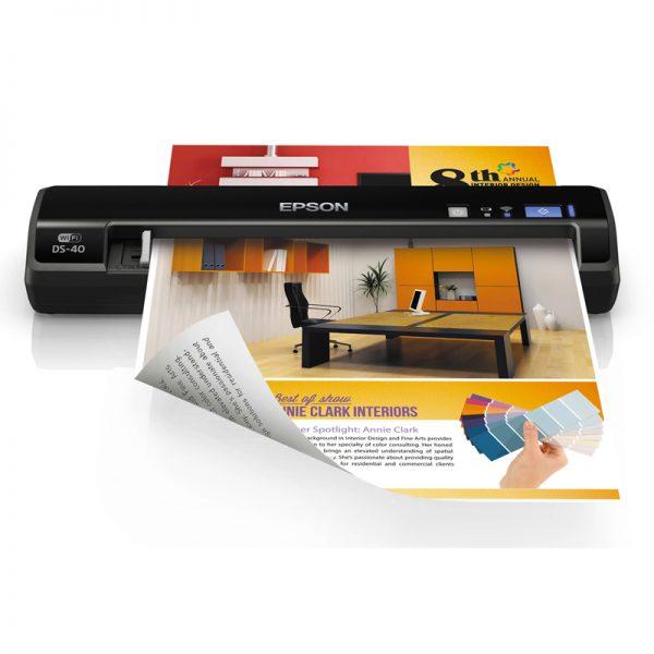 Escaner Portátil EPSON WorkForce DS-40