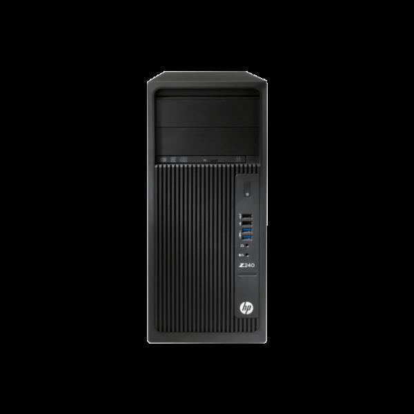 HP Z240 Workstation Tower i7-7700 3.6Ghz - 8GB - 2TB - DVDRW - Win 10 Pro - Inglés