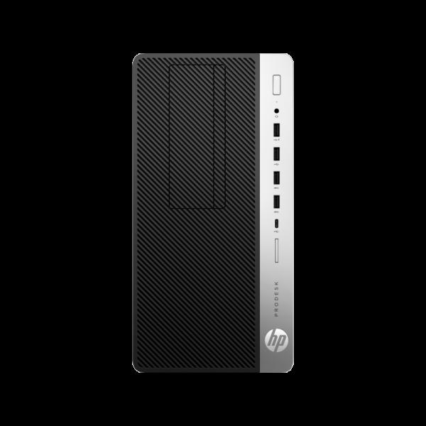 Computador HP ProDesk 600 G3 MT i3-7100 3.9 Ghz - 4GB - Win 10 Pro - Teclado Inglés