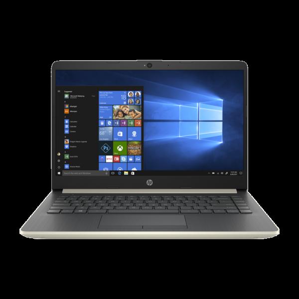 "Notebook HP 14 i3-7100U 2.4Ghz - 14"" - 4GB - 128GB SSD - Win 10 Home"