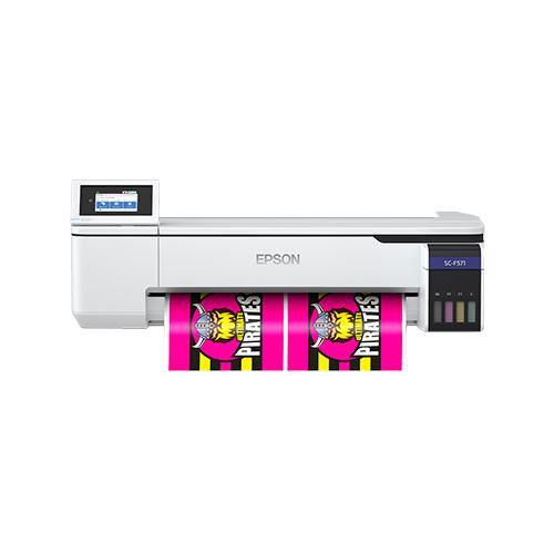 """Impresor EPSON SureColor F571 de Sublimación - 24"""" con tinta fluorescente"""
