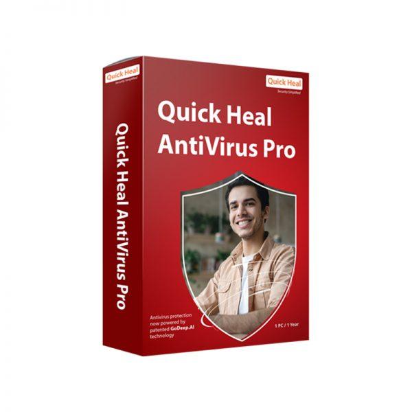 QUICK HEAL Antivirus Pro V. 18 para Windows - 1 año