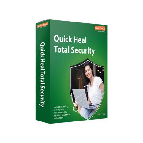 QUICK HEAL Total Security V. 18 para Windows – 1 año