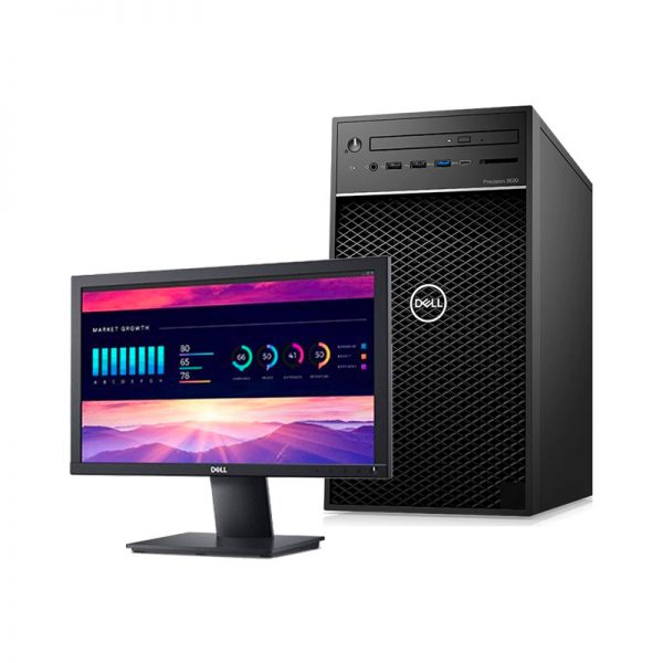 Computador DELL Precision 3630 Tower i3-9100 - 16GB - SSD 256GB - Windows 10 Pro
