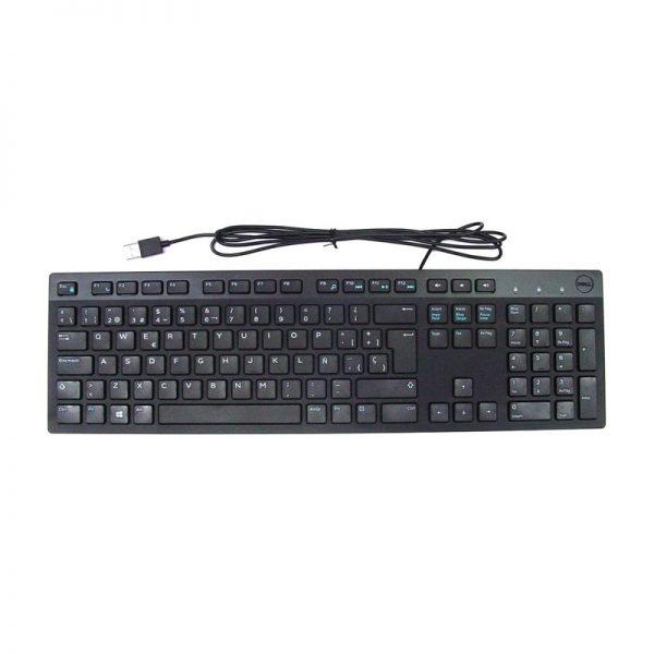 Teclado USB en español DELL KB216-BK-LTN