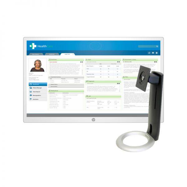 """Monitor LED HP HC271p - 27"""" - 2560 x 1440 - HDMI, VGA, DP"""